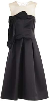 P.A.R.O.S.H. Bow Detail Midi Dress
