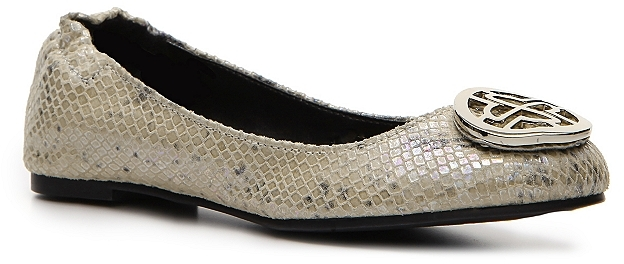 Audrey Brooke Paris Metallic Flat