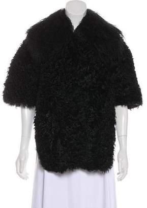 Miu Miu Fur Short Sleeve Bolero