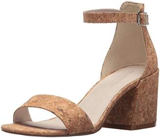 Kenneth Cole New York Women's Hannon Block Ankle Strap Heeled Sandal