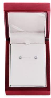 Lord & Taylor Diamond and 14K White Gold Stud Earrings,0.25 TCW