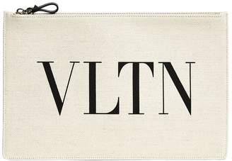 Valentino Canvas VLTN Pouch