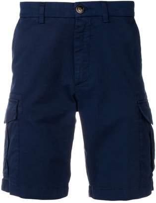 Eleventy slim-fit cargo shorts