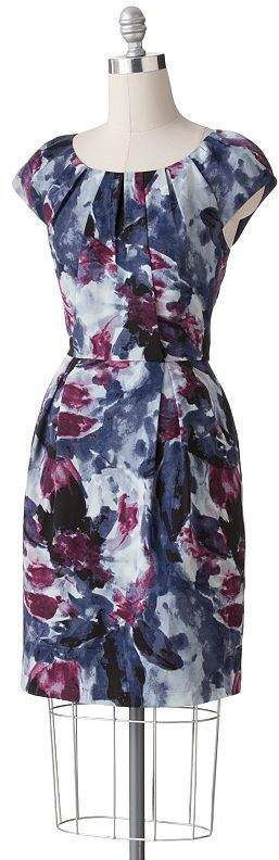 Apt. 9® floral pleated sheath dress