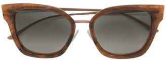 HUGO BOSS oversized cat eye sunglasses