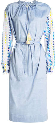 Lemlem Shirt Dress with Cotton