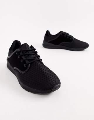 Brave Soul Breckham Sneakers In Black