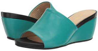 David Tate Mint Women's Wedge Shoes