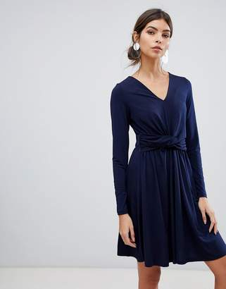 French Connection wrap mini dress