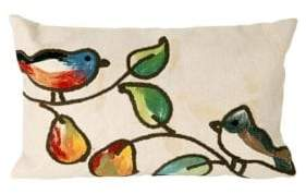 Visions III Song Birds Indoor and Outdoor Pillow