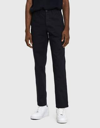 Norse Projects Aros Heavy Twill Chino Pant in Dark Navy