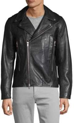 J. Lindeberg Leather Moto Jacket