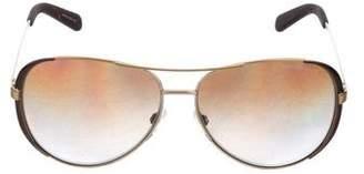 Michael Kors Polarized Aviator Sunglasses