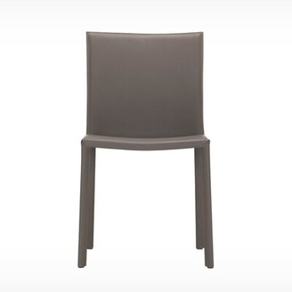EQ3 Acel Genuine Leather Upholstered Dining Chair EQ3