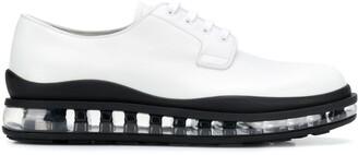Prada rubber sole oxford shoes