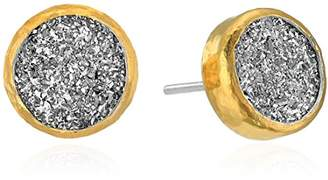 Gurhan Mystere Sterling Small Round Drusy Stud Earrings