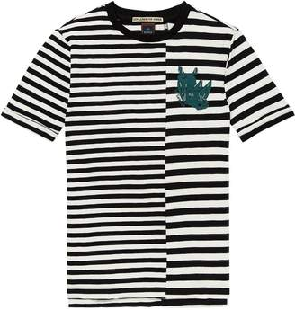 Scotch & Soda Contrast Striped T-Shirt