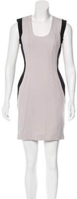 Diane von Furstenberg Sleeveless Mini Sheath Dress