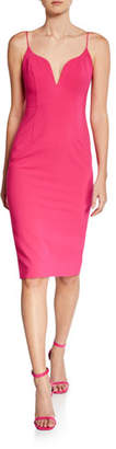 Jill Stuart Sweetheart Sleeveless Body-Con Dress