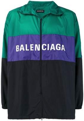Balenciaga Nylon tracksuit jacket