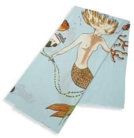 Loewe X Paula's Ibiza Mermaid Cotton Pareo