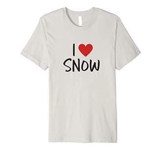 I Heart Snow/I Love Snow Fun Winter Shirt