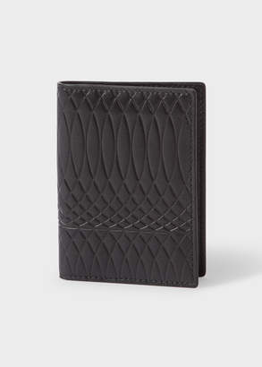 Paul Smith No.9 - Men's Black Leather Credit Card Wallet