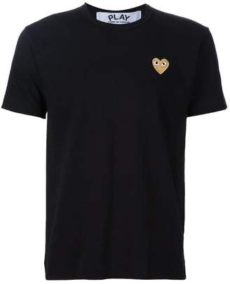 Comme des Garcons heart application T-shirt