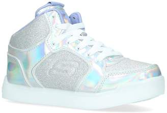 Skechers Glitter Hi-Top Sneakers