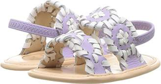 Jack Rogers Girls' Baby Lauren Flat Sandal