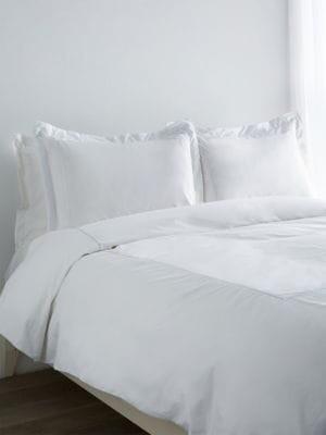 Melange Home Cotton Embroidered Duvet Set