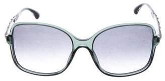 Chanel Square Bijou Sunglasses