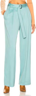 Sies Marjan Blanche Belted Pant in Soft Jade   FWRD