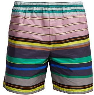 Prada Multi Stripe Swim Shorts - Mens - Multi