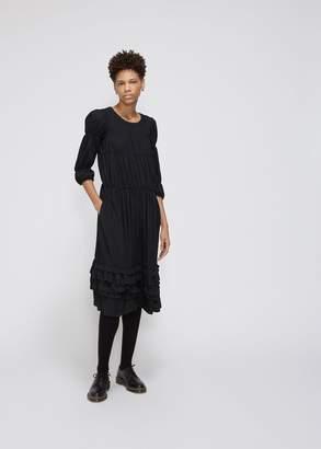 Comme des Garcons Ruched Dress