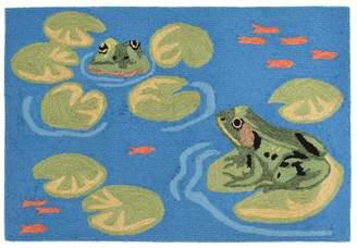 Liora Manné Frontporch Frogs Indoor Outdoor Rug