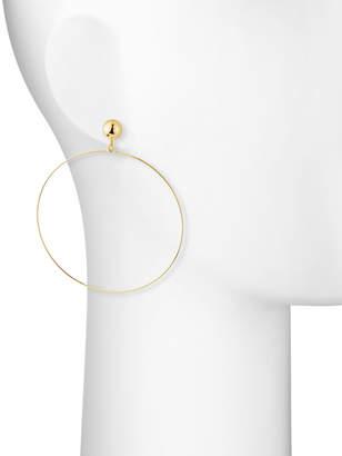 Panacea Wire Hoop Drop Earrings