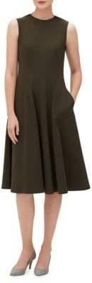Lafayette 148 New York Topenga Sleeveless A-Line Dress