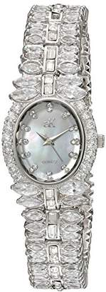 Adee Kaye Women's Quartz Brass Dress Watch