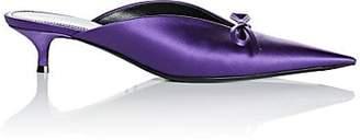 Balenciaga Women's Satin Mules - Violet