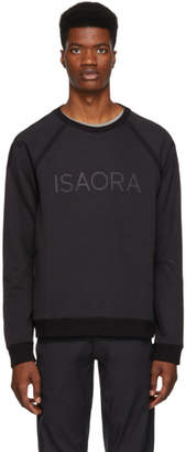 Isaora Black Circuit Sweatshirt