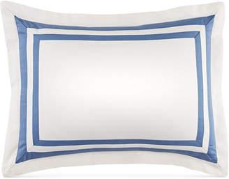 "Tommy Hilfiger Closeout! Double Border 12"" x 16"" Decorative Pillow Bedding"