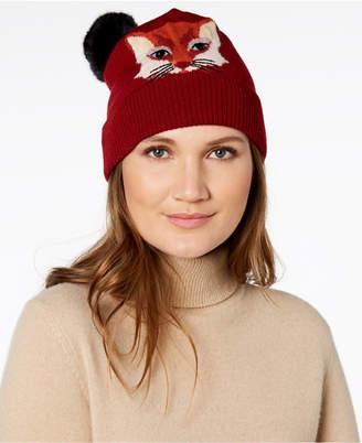 Kate Spade Foxy Wool Beanie