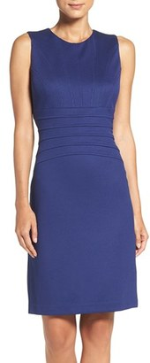 Ivanka Trump Seamed Scuba Sheath Dress $138 thestylecure.com