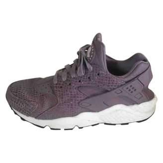 Nike Huarache leather trainers
