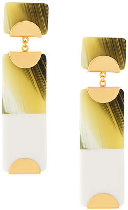 Tory Burch geometric drop earrings