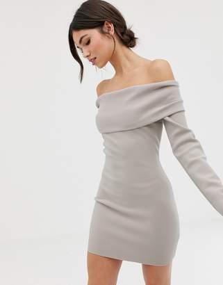 Bec & Bridge Off Shoulder Mini Dress