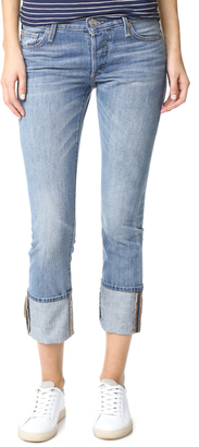 True Religion Liv Low Rise Relaxed Skinny Jeans $199 thestylecure.com