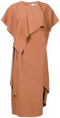 Chalayan Slash draped dress