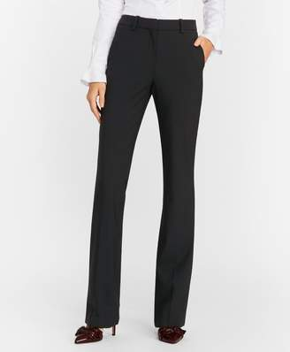 Brooks Brothers Petite Stretch-Wool Crepe Tuxedo Pants